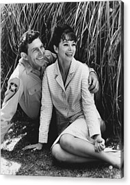 Andy Griffith Acrylic Print by Retro Images Archive