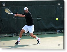 Andy Roddick  Acrylic Print by James Marvin Phelps