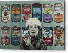 Andy Warhol Acrylic Print by Heidi Hooper