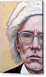 Andy Warhol Acrylic Print by Tom Roderick