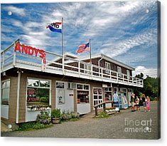 Andys At The Light Acrylic Print
