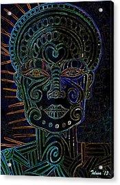 Anencephaly Angel Acrylic Print by Teleita Alusa