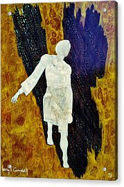 Angel 1 Acrylic Print by Larry Campbell