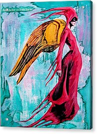 Angel 1 Navigating Ether Acrylic Print