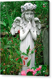 Angel Acrylic Print by Aimee L Maher Photography and Art Visit ALMGallerydotcom