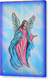 Angel Acrylic Print by Andrew Read