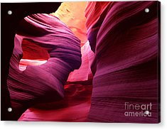 Angel Arch In Antelope Canyon Acrylic Print