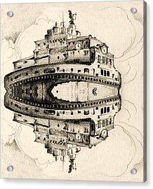 Angel Castle Acrylic Print