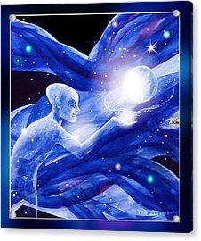 Angel Creator Acrylic Print by Hartmut Jager