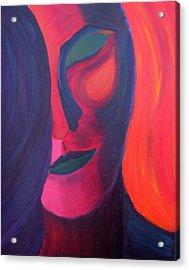 Angel Acrylic Print by Daina White