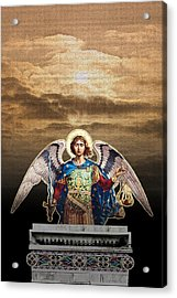 Angel Acrylic Print by David Davies