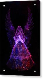 Acrylic Print featuring the photograph Angel Dots by Shane Bechler