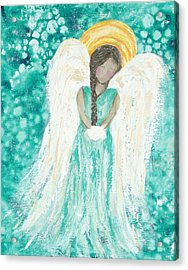 Angel Dreams Acrylic Print by Kirsten Reed