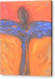 Angel Impression 1 Acrylic Print by Mark Minier