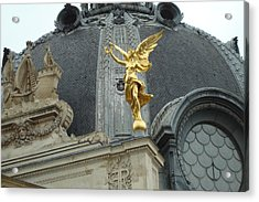 Angel In Paris Acrylic Print by Kay Gilley