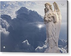Angel In The Clouds Acrylic Print by Jim Zuckerman