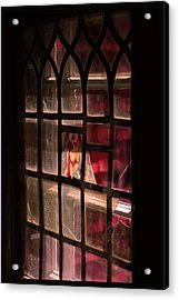 Angel In The Window Acrylic Print by Tommytechno Sweden