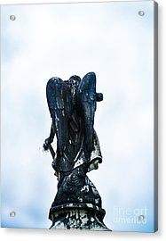 Angel In Waiting Acrylic Print by Sonja Quintero