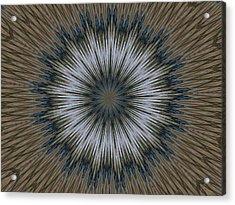 Angel Kaleidoscope Two Acrylic Print