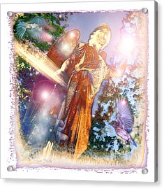 Acrylic Print featuring the photograph Angel Light by Marie Hicks