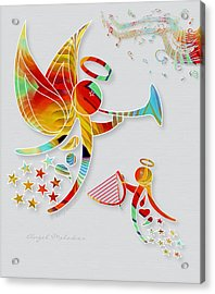 Angel Melodies Acrylic Print by Gayle Odsather