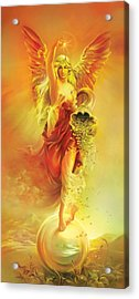 Angel Of Abundance - Fortuna Acrylic Print