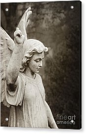 Angel Of Comfort Acrylic Print