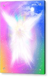 Angel Of Concord Acrylic Print by Anderson Stoffelshaus
