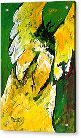 Angel Of Delight Acrylic Print by Patricia Brintle
