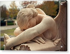 Angel Of Grief Houston 2 Acrylic Print