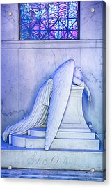 Angel Of Grief New Orleans 2 Acrylic Print
