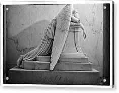 Angel Of Grief New Orleans 6 Acrylic Print