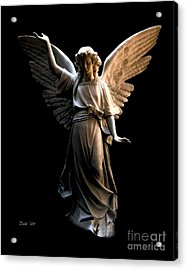 Acrylic Print featuring the digital art Angel Of Light by Dale   Ford