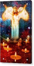 Angel Of Light  Acrylic Print by Mark Preston