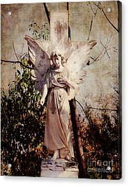 Angel Of Old Acrylic Print by Sonja Quintero