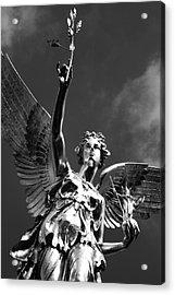 Angel Of Peace Acrylic Print by Marc Huebner