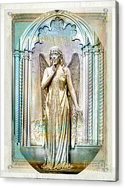 Angel Of Silence.genoa Acrylic Print