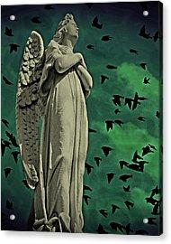 Angel Of Stone Acrylic Print