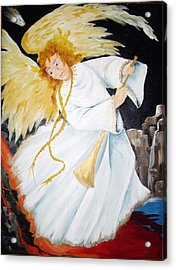 Angel Of The Apocalypse Acrylic Print