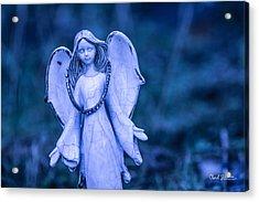 Angel Of The Rain Acrylic Print