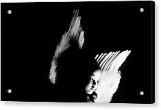 Acrylic Print featuring the photograph Angel Of Thought  by Jessica Shelton