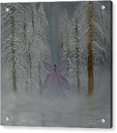 Angel Of Winters Past Acrylic Print