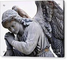 Angel Praying 2 Acrylic Print