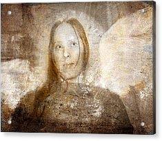 Angel Relief Acrylic Print