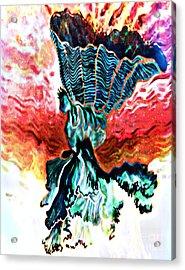 Angel Solar Acrylic Print by Genevieve Esson