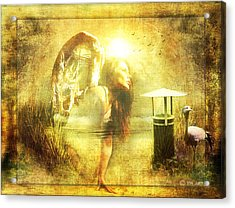 Angel Spirit Acrylic Print