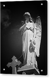 Angel St Louis Cemetery No 3 New Orleans Acrylic Print