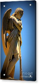 Angel Watching Acrylic Print