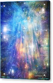 Angelic Being Acrylic Print by Leanne Seymour