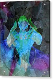 Angelic Descent Acrylic Print by Shirley Sirois
